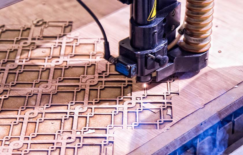 Grabado laser con Router CNC