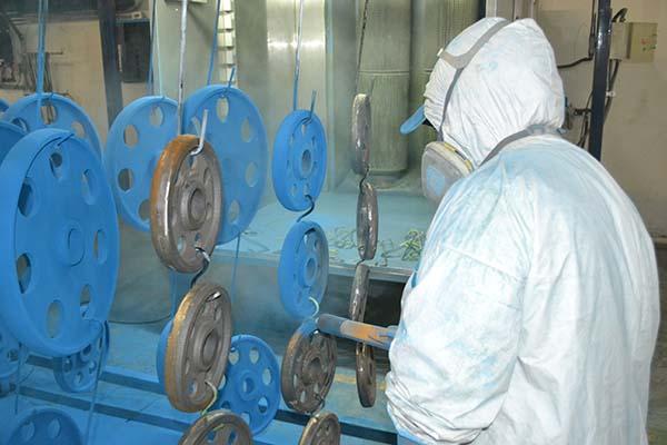 pintura electrostatica - powder coating
